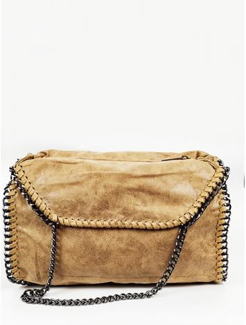 Τσάντα ώμου με αλυσίδες
