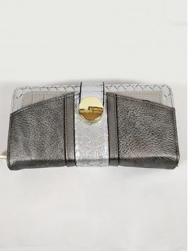 Πορτοφόλι με όψη φιδιού
